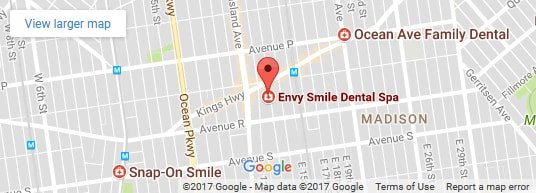 Envy Smile Dental Spa on the Map